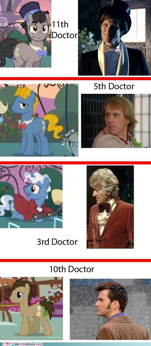 doctor who doctor whooves ponies TV - 5526777856