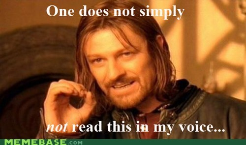 betty white Boromir one does not simply voice - 5526779904