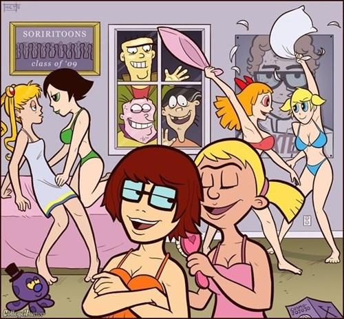 Fan Art college humor cartoons - 552709