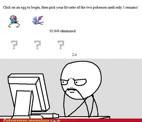 game,Memes,never pick,predicament,tentacool,zubat