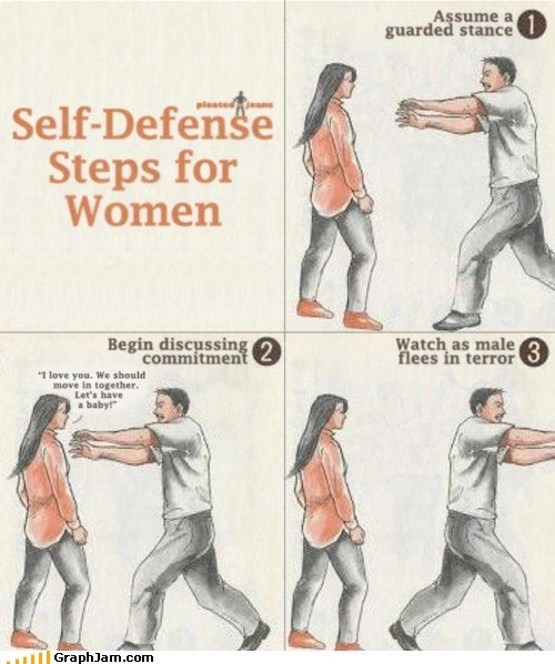 best of week,commitment issues,self defense,women