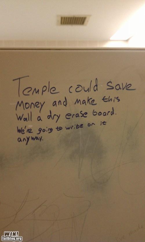 Bathroom Graffiti efficient graffiti hacked irl thrifty wisdom