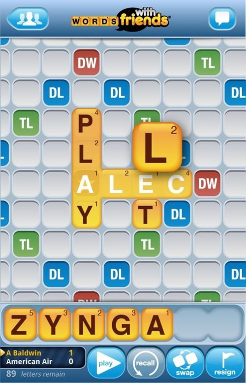 alec baldwin,Ba-Zynga,ICWUDT,Punny Response,Words With Friends,zynga