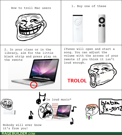 awesome,mac,Rage Comics,troll