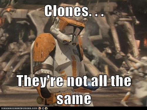 Clone Trooper clone wars Sad star wars the same - 5527900160