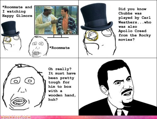 actor,Carl Weathers,celeb,funny,happy gilmore,Movie,rage comic