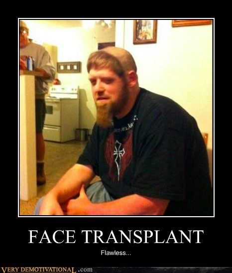 face transplant flawless hair hilarious wtf - 5528035584