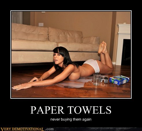 hilarious,milk,paper towels,Sexy Ladies,wtf
