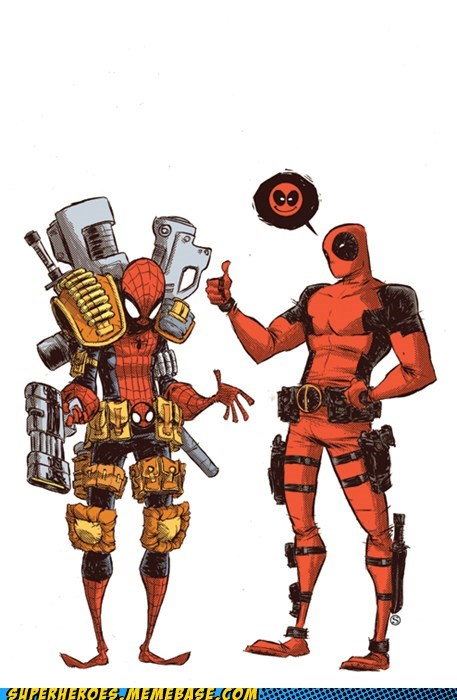 Awesome Art best of week deadpool fashion Spider-Man tips - 5528576512