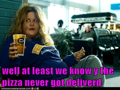 fat,fat suit,food,meg ryan,pizza