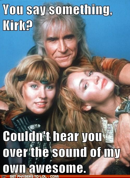 awesome khan kirk ricardo montalban sound Star Trek - 5528821248