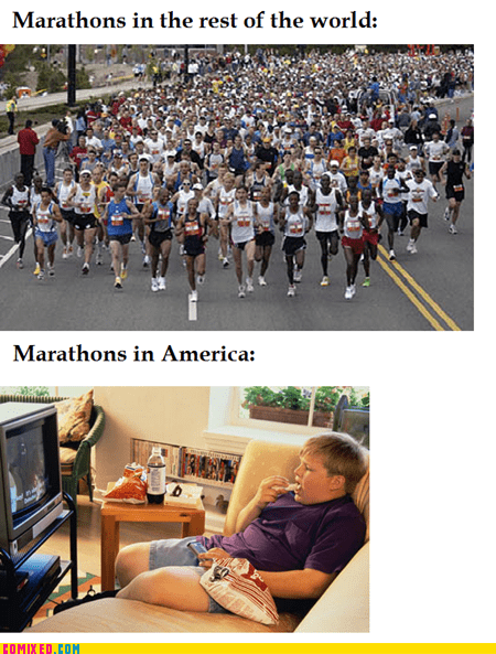 america kids marathons obese rest of the world TV - 5528977920