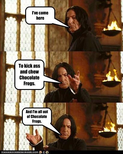 Alan Rickman Harry Potter kick ass Severus Snape - 5529759744