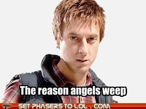 arthur darvil,Badass,doctor who,reason,rory williams,weeping angels