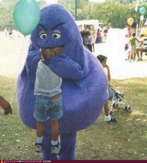 grimace,mc donalds,Party,wtf