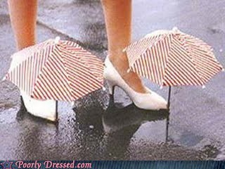 rain gear solves the problem umbrella shoes - 5530329344
