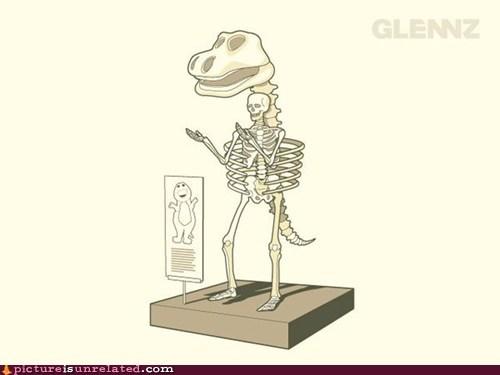 barney barney the dinosaur best of week skeleton wtf - 5530407424