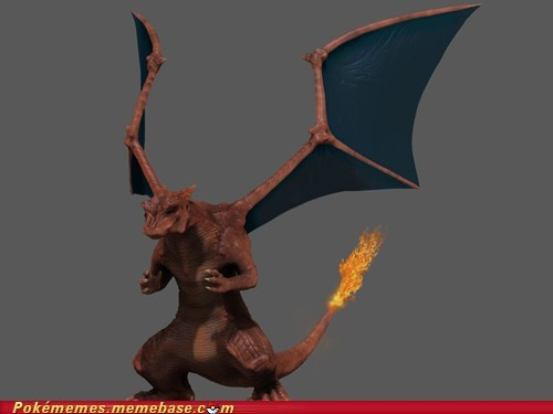 art,awesome,best of week,charizard,IRL,Pokémon,real life