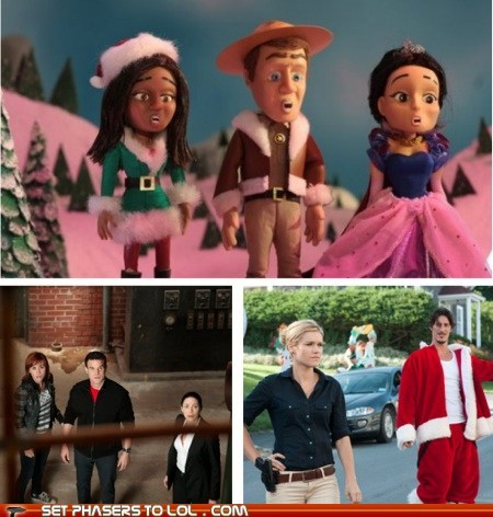 animated christmas Colin Ferguson eddie mcclintock haven joanne kelly special syfy warehouse 13 - 5530821376