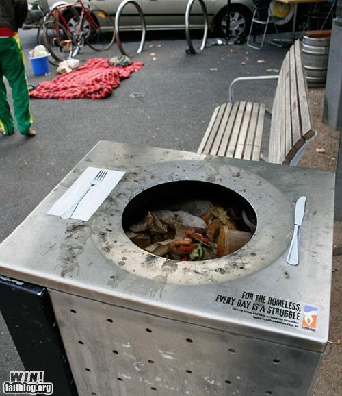 design garbage bin homeless psa trash - 5530976000