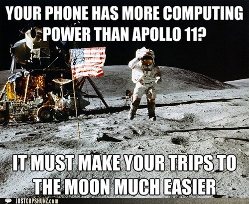 apollo 11 astronaut awesome buzz aldrin cell phone moon moon landing neil armstrong unimpressed astronaut