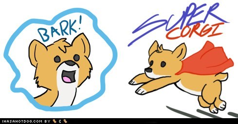 corgi drawing happiness happy how to be happy super corgi - 5531253760