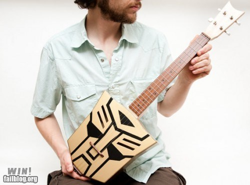custom,g rated,guitar,instrument,modification,Music,nerdgasm,transformers,ukulele,win