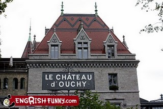 chateau,douches of the world,douchy