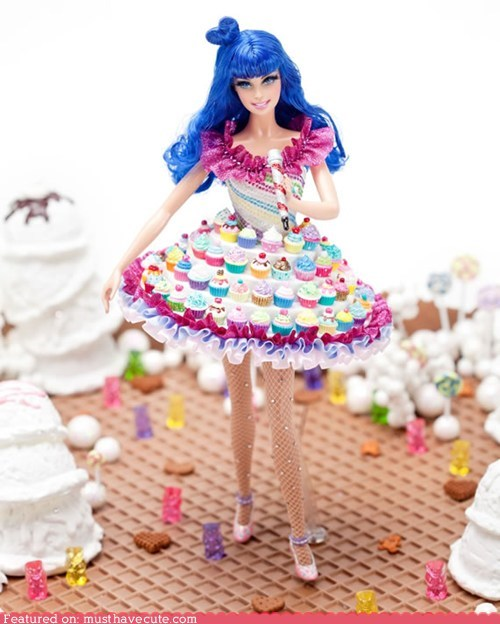 Barbie cupcakes gift guide katy perry limited edition sweets - 5531681536