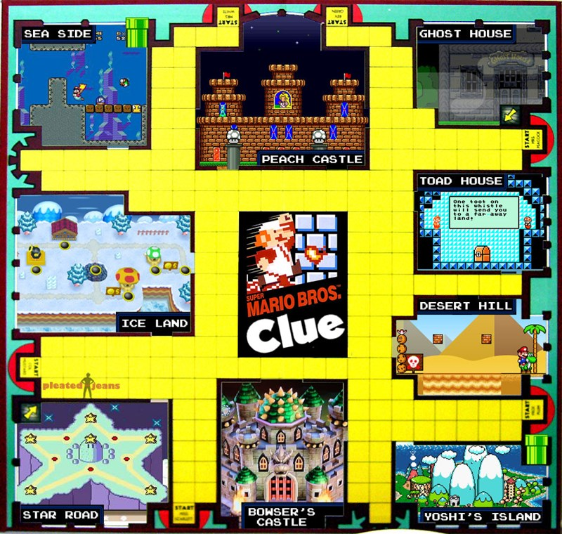 best of week board games clue Fan Art fandom Memes Super Mario bros video games - 5531883776