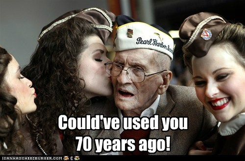 Could've used you 70 years ago!