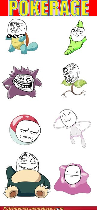 gen 1,lol,Memes,pokerage,rage faces