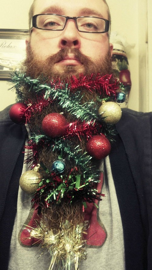 beardy christmas decorations fashion father christmas g rated hipster holidays poorly dressed winter weird - 5532112640