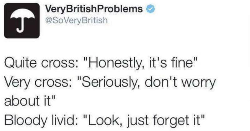 funny british problems