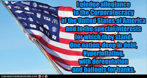 america,corporations,economy,flag,political pictures,united states