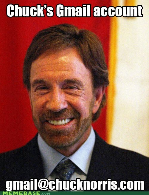 Chuck Norris Knows All Your Passwords