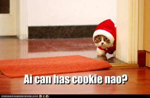 Ai can has cookie nao?