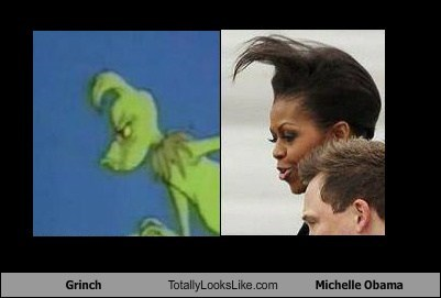 Grinch Totally Looks Like Michelle Obama