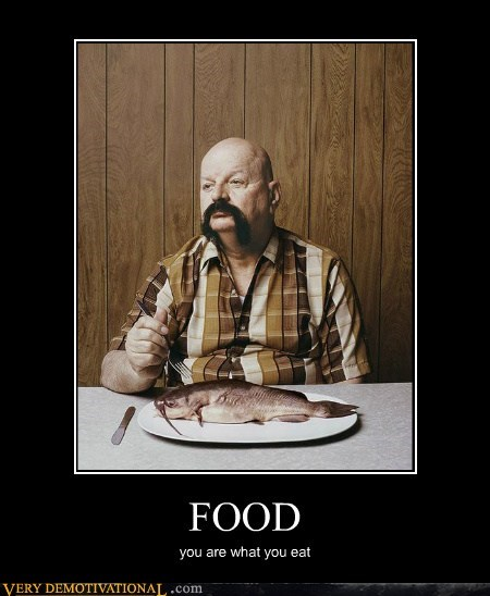 amazing,fish,food,mustache,Pure Awesome