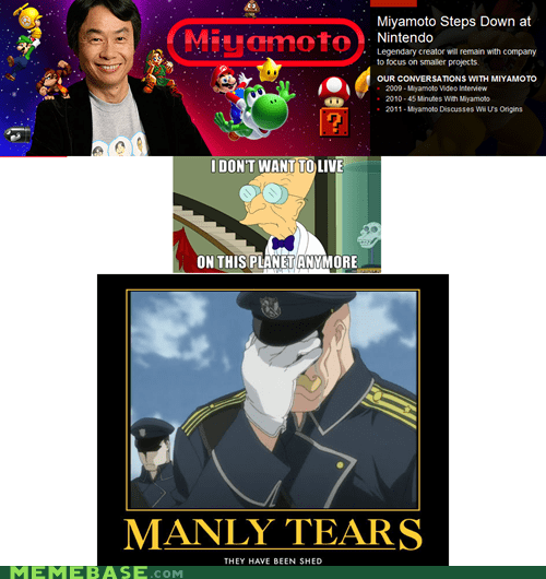 heart i dont want to live on this planet anymore miyamoto nintendo tears video games - 5533592064