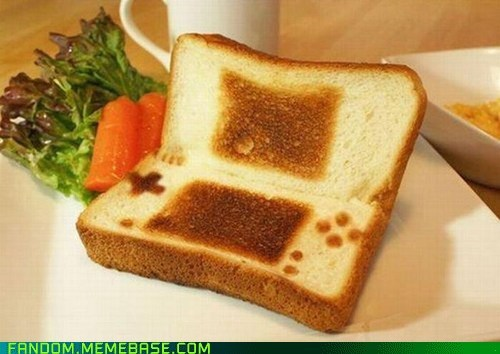 ds Fan Art nintendo toast - 5533908224