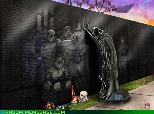 darth vader Fan Art fandom Memes memorial star wars - 5533966336
