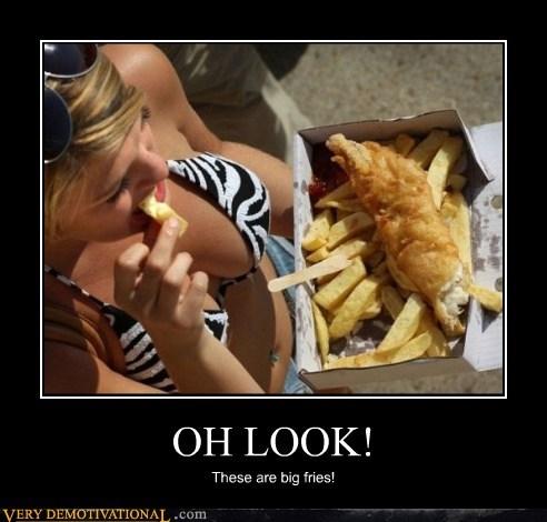 bikini chips fish hilarious - 5533977856