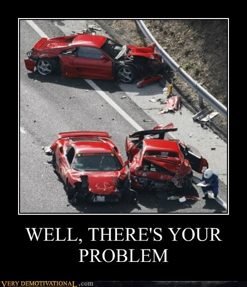 broken cars hilarious lamborghini problem