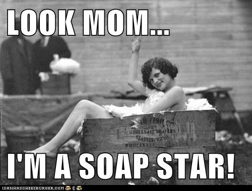 bath,historic lols,soap,soap star,vintage,wtf