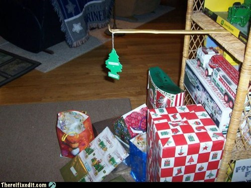 air freshener,christmas,christmas tree,DIY,dual use,g rated,Hall of Fame,holiday,holilday,there I fixed it