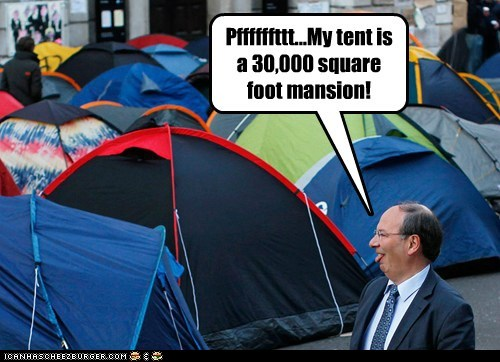 Occupy Wall Street political pictures tents