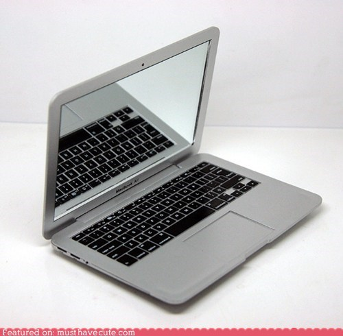 apple,compact,laptop,mirror