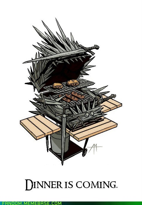 best of week dinner Game of Thrones grill It Came From the Interwebz Memes Winter Is Coming - 5535642880