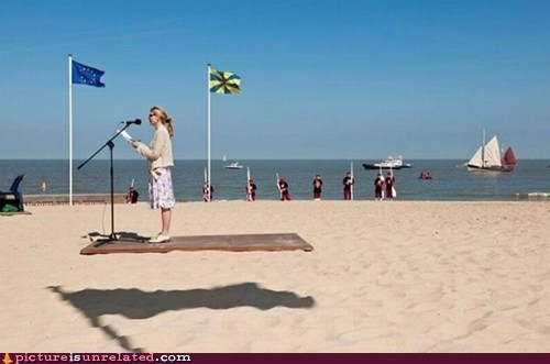 beach flying magic carpet wtf - 5535737856
